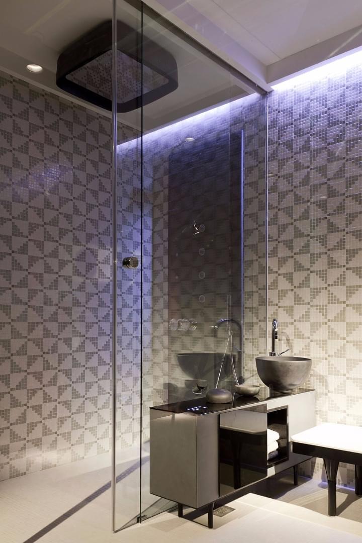 Trend Banyo Cam Mozaik