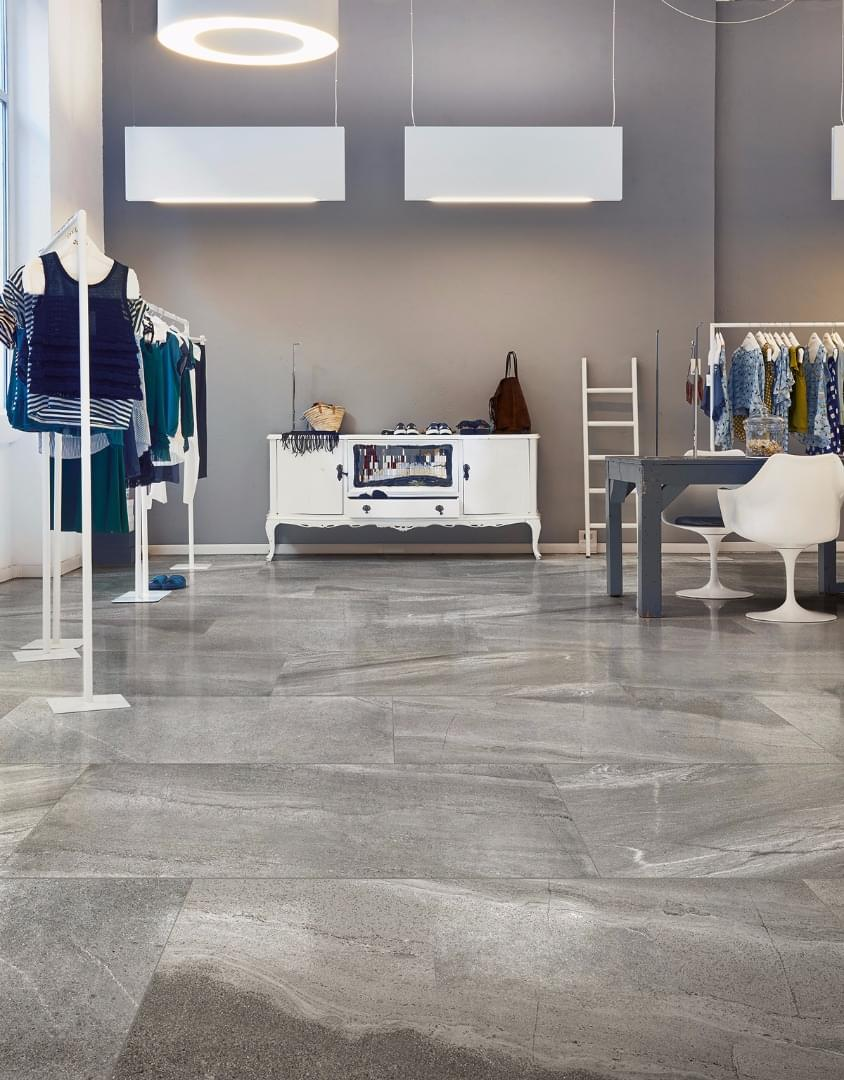 İthal İtalyan Seramik Floorgres Burlington Gray