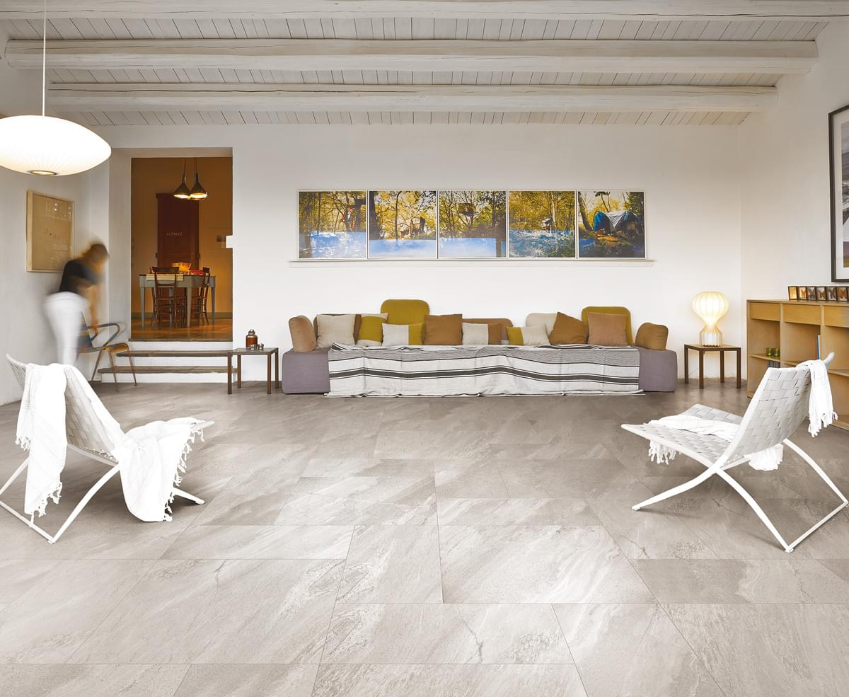 İthal İtalyan Seramik Floorgres Burlington White