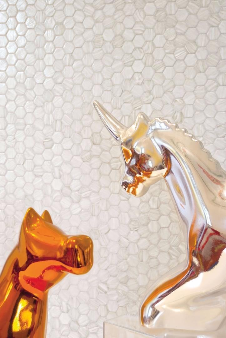 Trend Dekoratif Cam Mozaik